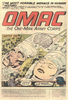 Extrait de Omac (1974) -5- New bodies for old