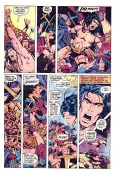 Extrait de Conan the Barbarian Vol 1 (Marvel - 1970) -10- Beware the wrath of the bull-god