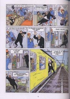Extrait de Léon-la-terreur (Léon Van Oukel) -2a- Léon-la-terreur atteint des sommets
