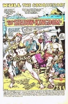 Extrait de Kull the Conqueror (1971) -2- The shadow kingdom