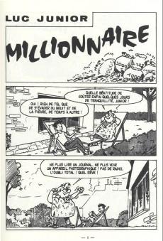 Extrait de Luc Junior -5- Junior millionnaire
