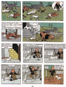 Extrait de Tintin - Pastiches, parodies & pirates -PIR- Tintin au pays des soviets