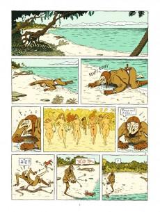 Extrait de L'Île aux Femmes