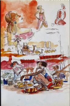 Extrait de (AUT) Pratt, Hugo - Rimbaud l'heure de la fuite