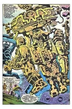 Extrait de The eternals Vol.1 (Marvel comics - 1976) -1UK- The day of the gods