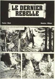 Extrait de Tex (Semic) -3- Le dernier rebelle