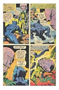 Extrait de Black Panther Vol.1 (Marvel - 1977) -2- The six-million year man