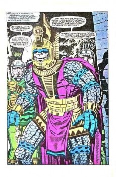 Extrait de The eternals Vol.1 (Marvel comics - 1976) -2UK- The Celestials!