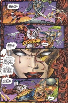 Extrait de Cyberforce (1993) -2- Killer instinct: chapter two