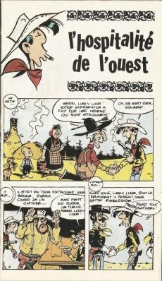 Extrait de Lucky Luke -Poche2- L'hospitalité de l'Ouest