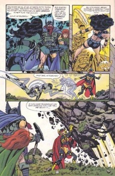 Extrait de Jack Kirby's Fourth World (1997) -2- A clash of titans