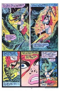Extrait de Red Sonja Vol.1 (Marvel comics - 1977) -5- Master of the bells