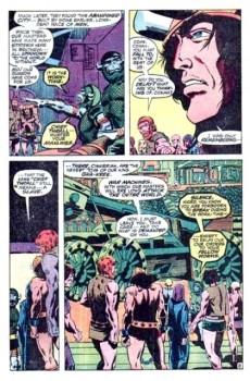 Extrait de Conan the Barbarian Vol 1 (Marvel - 1970) -2- Lair of the Beast-Men!