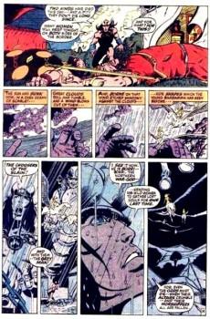 Extrait de Conan the Barbarian Vol 1 (Marvel - 1970) -3- The Twilight of the Grim Grey God!