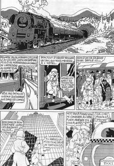 Extrait de Tintin - Pastiches, parodies & pirates - Tintin contre Batman