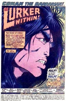 Extrait de Conan the Barbarian Vol 1 (Marvel - 1970) -7- The lurker within!