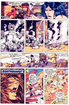 Extrait de Conan the Barbarian Vol 1 (Marvel - 1970) -8- The keepers of the crypt!