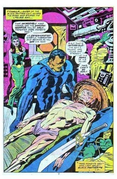 Extrait de Black Panther Vol.1 (Marvel - 1977) -5- Quest for the sacred water-skin!!