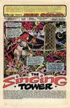 Extrait de Red Sonja Vol.1 (Marvel comics - 1977) -6- The singing tower
