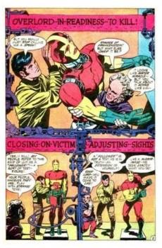 Extrait de Mister Miracle (DC comics - 1971) -2- X-pit!