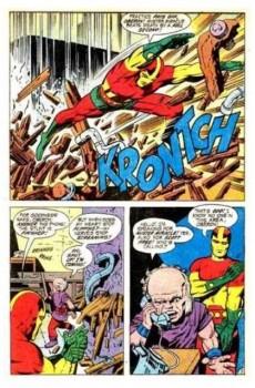 Extrait de Mister Miracle (DC comics - 1971) -3- The paranoid pill!