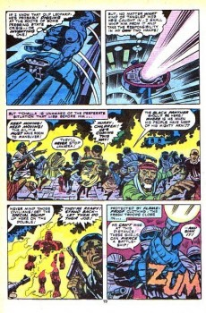 Extrait de Black Panther Vol.1 (Marvel - 1977) -10- This world shall die!
