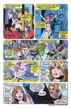 Extrait de Conan the Barbarian Vol 1 (Marvel - 1970) -17- The devil-god of Bal-Sagoth!