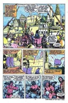 Extrait de Conan the Barbarian Vol 1 (Marvel - 1970) -19- Hawks from the sea
