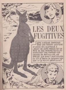 Extrait de Frimousse et Frimousse-Capucine -102- Les deux fugitives