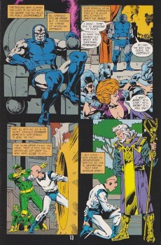 Extrait de New Gods Secret Files (1998) -1- New Gods Secret Files& Origins