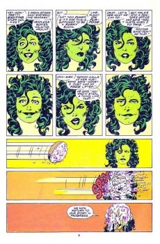 Extrait de Sensational She-Hulk (The) (1989) -3- My Guest-Star... My Enemy
