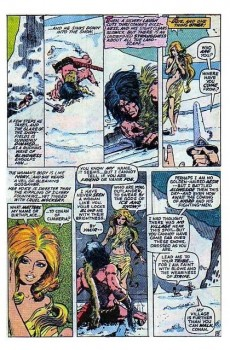 Extrait de Conan the Barbarian Vol 1 (Marvel - 1970) -16- The frost giant's daughter