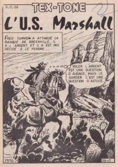 Extrait de Tex-Tone -426- L'U.S. marshall