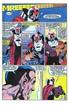 Extrait de Alpha Flight (1983) -16- ...and forsaking all others...