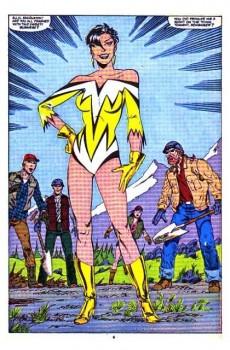 Extrait de Alpha Flight (Marvel comics - 1983) -20- Gold and love affairs!
