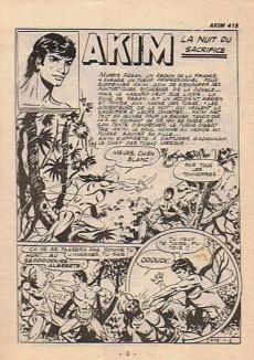 Extrait de Akim (1re série) -415- La nuit du sacrifice