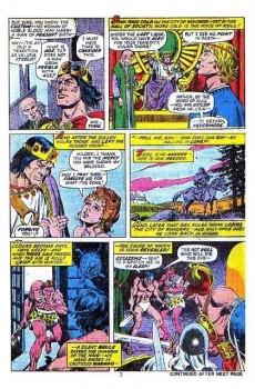 Extrait de Kull the Conqueror (1971) -7- Delcardes' cat