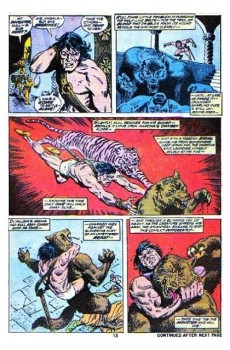 Extrait de Kull the Conqueror (1971) -8- Wolfshead