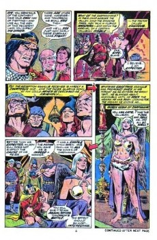 Extrait de Kull the Conqueror (1971) -10- Sword of the white queen!