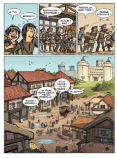 Extrait de Le livre de Piik -1- Le secret de Sallertaine