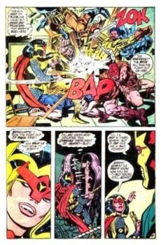 Extrait de Mister Miracle (DC comics - 1971) -4- The closing jaws of death!
