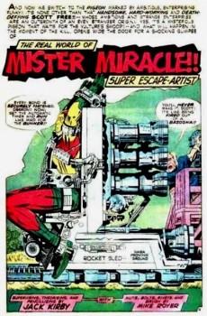 Extrait de Mister Miracle (DC comics - 1971) -6- Funky flashman!