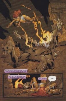 Extrait de Red Sonja (2005) -2- The flaming skulls / winds of doom