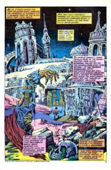 Extrait de Conan the Barbarian Vol 1 (Marvel - 1970) -40- The fiend from the forgotten city!