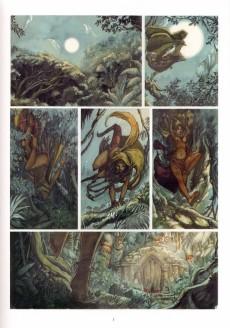 Extrait de La légende de Noor -1- Le sacrifice d'Hooskan