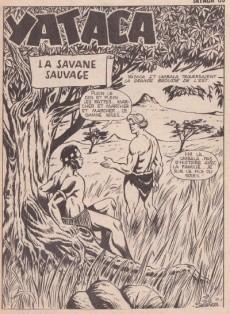 Extrait de Yataca (Fils-du-Soleil) -65- La savane sauvage