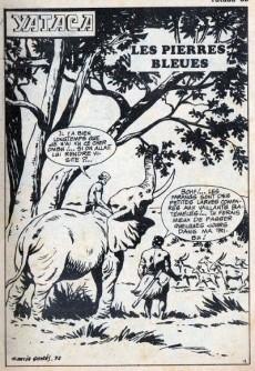 Extrait de Yataca (Fils-du-Soleil) -66- Les pierres bleues