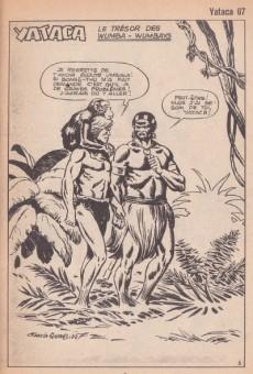 Extrait de Yataca (Fils-du-Soleil) -67- Le trésor des Wumba-Wumbays