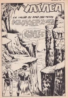 Extrait de Yataca (Fils-du-Soleil) -116- La vallée du fond des temps