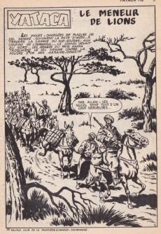 Extrait de Yataca (Fils-du-Soleil) -118- Le meneur de lions